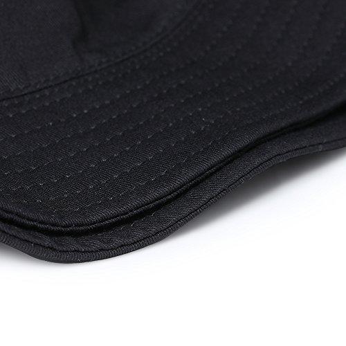 Negro de Gorra MENGMA 58cm Negro para béisbol Hombre 64Y65qRwxH