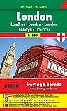 Londres City Pocket, plano callejero plastificado, de bolsillo. Escala 1:10.000. Freytag & Berndt.: Stadskaart 1:10 000 (City Pocket + The Big Five)