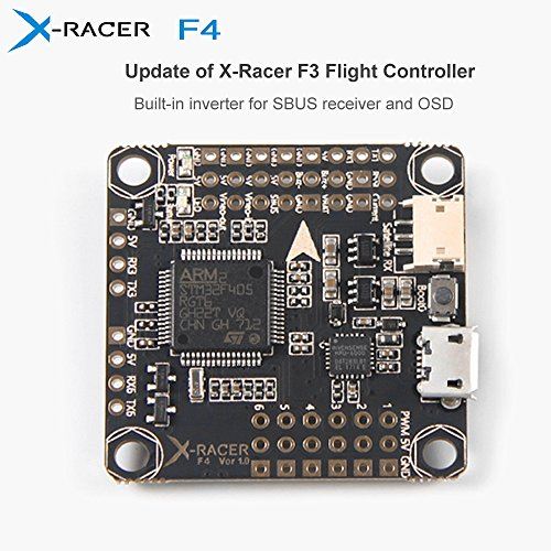 X-Racer F4 Flight Controller Integrated Betaflight OSD with 6 PWM Outputs for FPV Racing RC Drone Multirotor QuadcopterQAV V R X ZMR 250 210 230 220 200 180