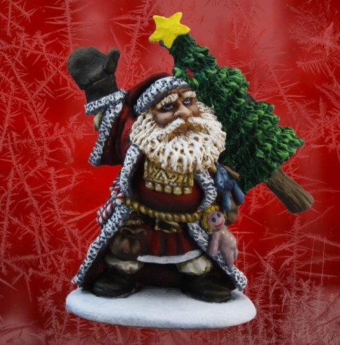 Santa Dwarf Miniature Unpainted 01525 Reaper Miniatures Dwarf Santa
