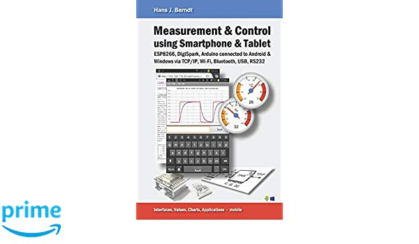 Measurement & Control using Smartphone & Tablet: Amazon.es: Hans J ...