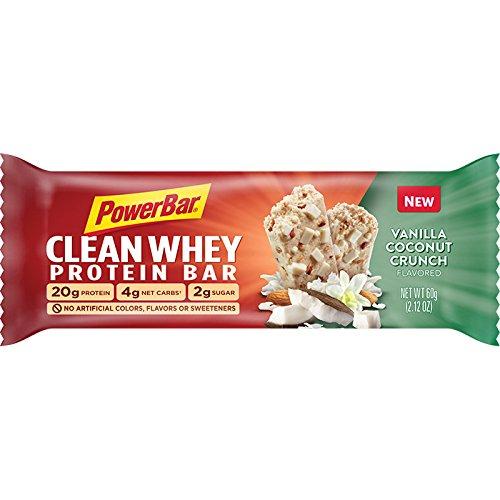 Powerbar Protein 608448 Clean Whey Protein Crunch Bars - Vanila And 608448 Coconut Crunch B077CRCYW4, 川内町:754c5fe0 --- ijpba.info