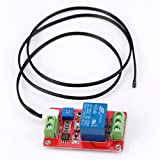 GEREE 12V 1 Single-Channel Thermal Relay Control Sensor Module Temperature Switch