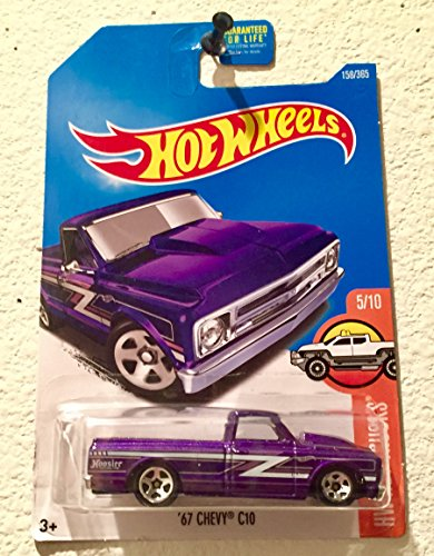 Hot Wheels 2017 HW Hot Trucks '67 Chevy C10 Hoosier for sale  Delivered anywhere in USA