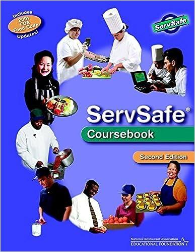 ServSafe Coursebook, Second Edition by National Restaurant Association Educational Foundation (2002-03-08)