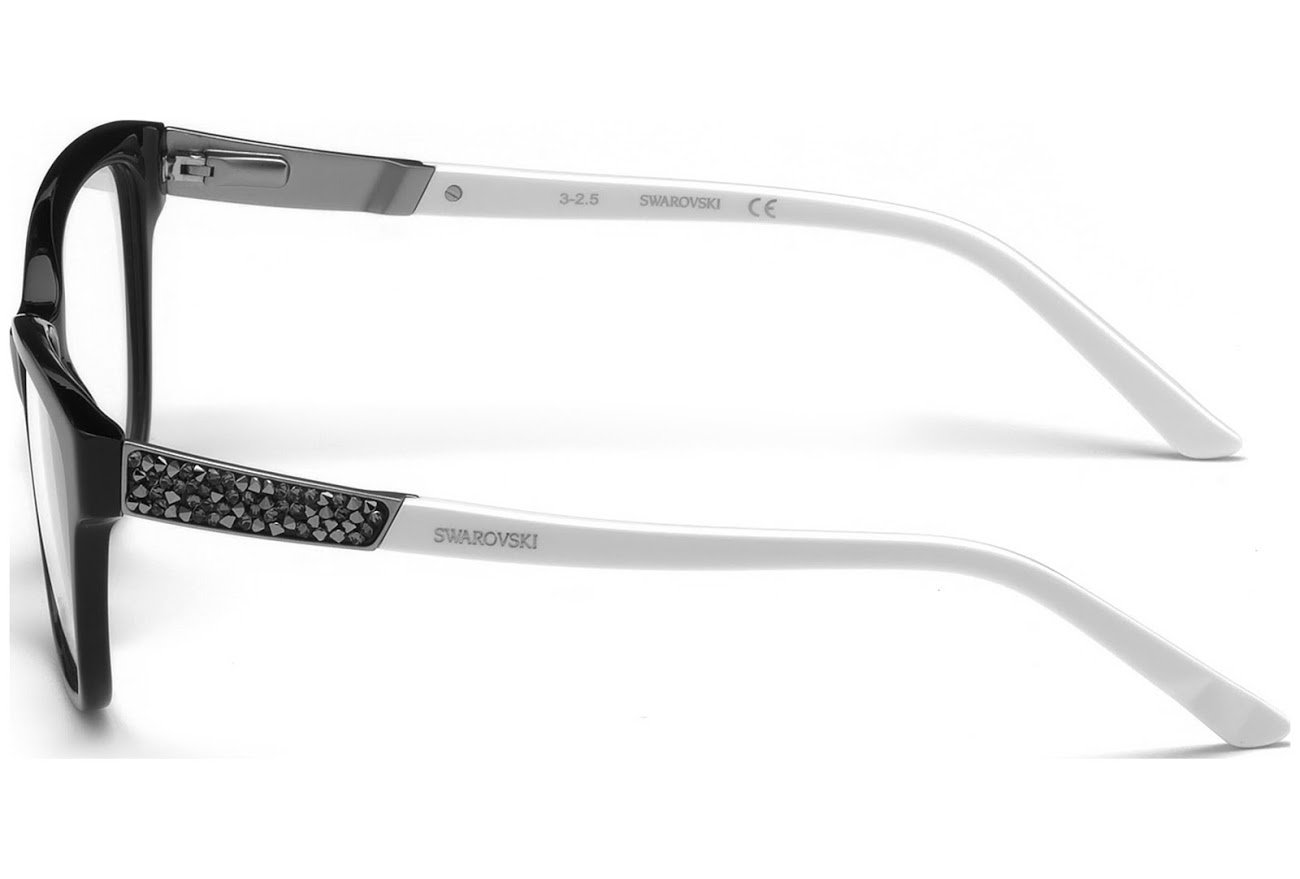 anteojos Swarovski gris SK 5171 01 A Negro Brillante/Humo: Amazon ...