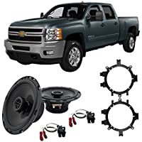 Fits Chevy Silverado Pickup 1999-2013 Front Door Replacement HA-R5 Speakers