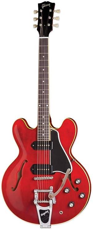 Gibson Memphis es-330 es30vcbnh1 semi-hollow-body - Guitarra eléctrica, color vintage Cherry: Amazon.es: Instrumentos musicales