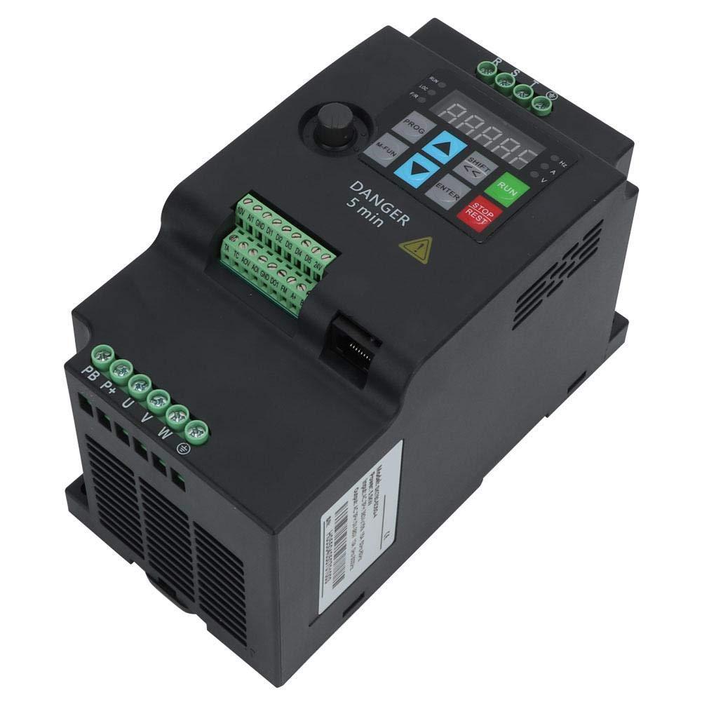 Variateur de fr/équence variateur de fr/équence universel VFD convertisseur de fr/équence 5.5kw 380V 3HP pour le contr/ôle de la vitesse du moteur de broche SKI780-5D5G-4
