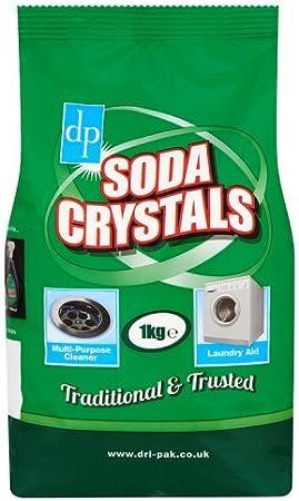 Dri-Pak - Cristales de soda, 1 kg, 6 unidades: Amazon.es: Salud y cuidado personal