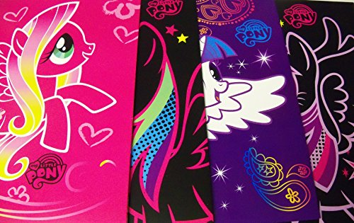 Black Starlight Sparkle (My Little Pony Friendship is Magic 4 Folder Set ~ Fluttershy on Pink, Rainbow Dash on Black, Rarity, Princess Twilight Sparkle)