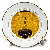3dRose Danita Delimont - Architecture - Morocco, Meknes. Architectural detail of hotel interior. - 8 inch Porcelain Plate (cp_276496_1)
