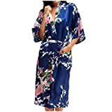 VEFSU Japanese Robe Dress for Women Bathrobes