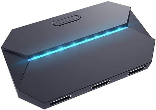 Dpofirs Adaptador de Mouse y Teclado para Juego de Teléfono ...