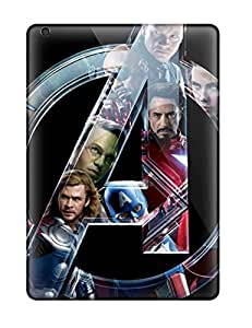 Best Ultra Slim Fit Hard Case Cover Specially Made For Ipad Air- Avengers