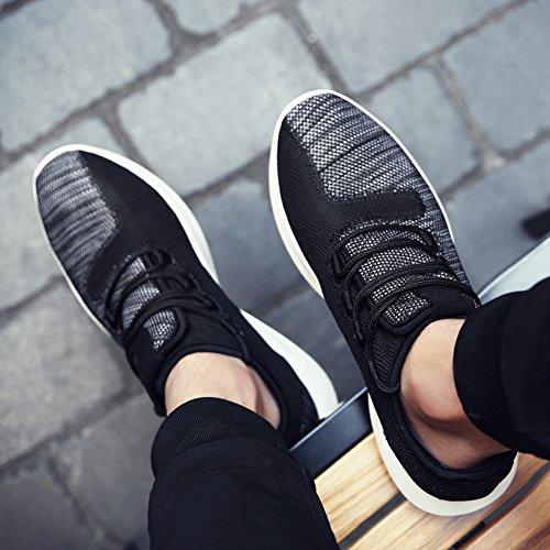 Rotok - Zapatillas para correr en montaña de Material Sintético para hombre negro negro negro