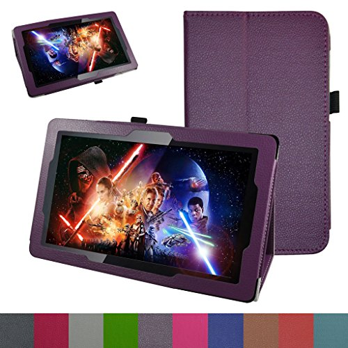 10.6 Fusion5 108 Octa Case,Mama Mouth PU Leather Folio 2-Folding Stand Cover for 10.6 Fusion5 108 Octa Core Android 5.1 Lollipop Tablet PC,Purple