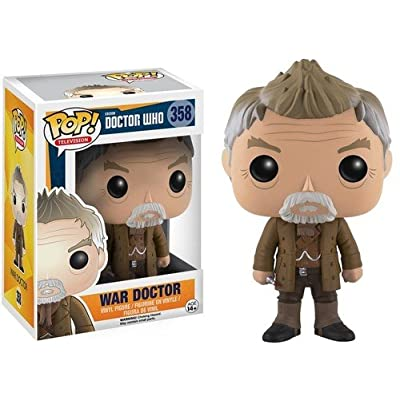 Funko POP Television: Doctor Who - War Doctor Action Figure: Funko Pop! Television: Toys & Games