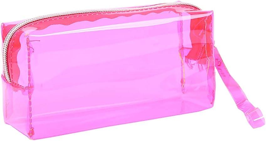 HeiHy - Estuche transparente para lápices de gran capacidad para adolescentes y niños: Amazon.es: Hogar