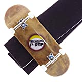 P-REP Solid Performance Complete Wooden Fingerboard 32mm x 100mm Natural