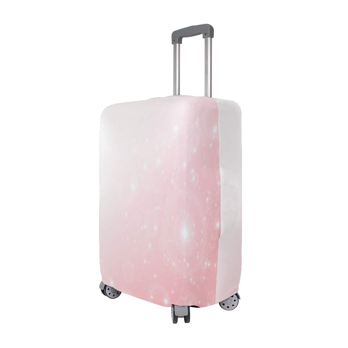 Pink Himalayan Salt Traveler Lightweight Rotating Luggage Protector Case Can Carry With You Can Expand Travel Bag Trolley Rolling Luggage Protector Case
