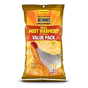 Hothands Insole Foot Warmer Individually Packed 10 pairs