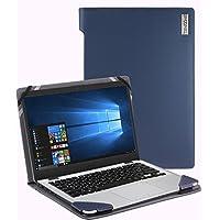 Broonel - Profile Series - Blue Leather Luxury Laptop Case For The ASUS VivoBook S14 S410UN