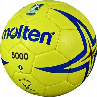 MOLTEN Handball - Pelota de Balonmano, Color Amarillo/Azul, Talla ...