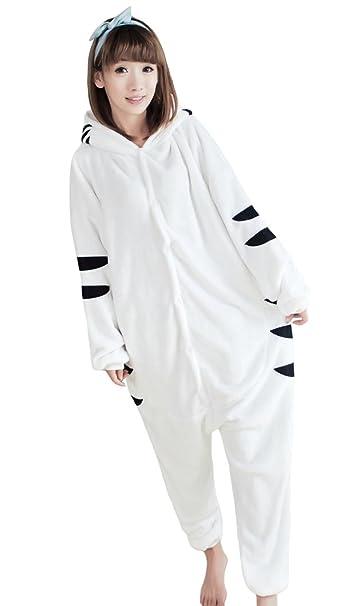 Tonwhar® Tigre Kigurumi Pijamas Pijamas Onesies de Halloween de cosplay disfraz.