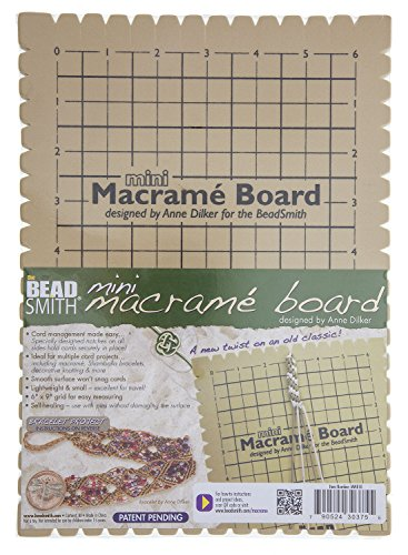 Beadsmith MWB10 Macrame Board Mini