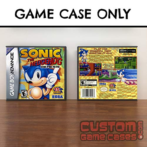 (Gameboy Advance Sonic Sonic the Hedgehog Genesis - Case)