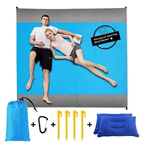 Sand Free Beach Blanket Pillow%E3%80%91Waterproof