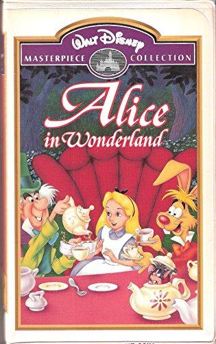 Alice in Wonderland (Walt Disney Masterpiece Collection) [VHS]