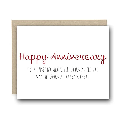 amazon com funny anniversary card for husband love card funny