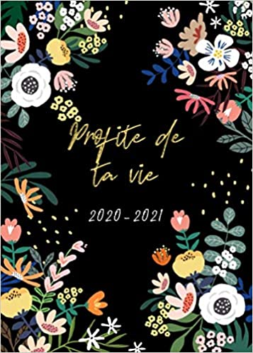 Agenda 2020 2021: Agenda Calendrier 2020/2021   format A5   15x21