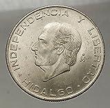 1956 MX 1956 MEXICO Large SILVER 5 Pesos