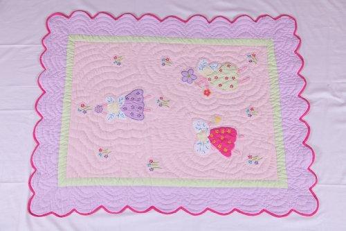 Bacati - Fairy Land Crib Quilt