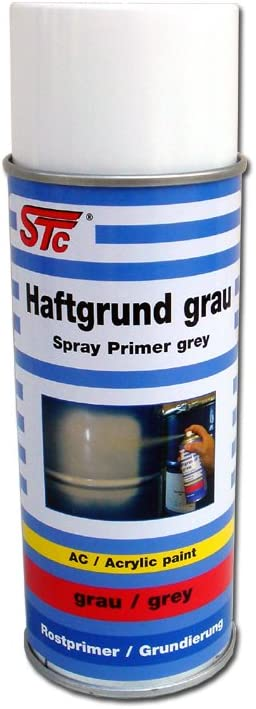 Stc Haftgrund Grau Spray 400 Ml Rostschutz Universal Grundierung Lackspray Primer Auto