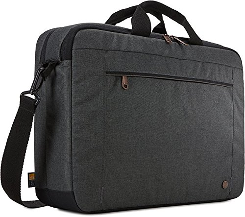 "Case Logic 3203696 Era 15.6"" Laptop Bag, Obsidian"