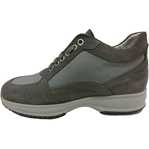 Exton , Herren Sneaker grau grau 45