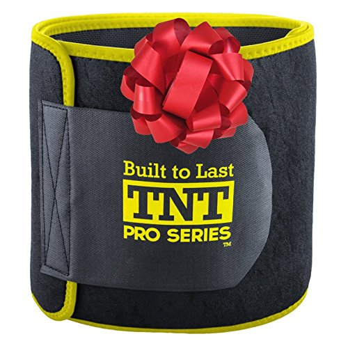 Neoprene Waist Belt (TNT Waist Trimmer Weight Loss Ab Belt - Stomach Wrap and Waist)