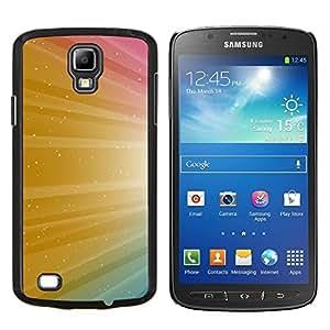 LECELL--Funda protectora / Cubierta / Piel For Samsung Galaxy S4 Active i9295 -- Color de la chispa del brillo Colores --