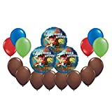 Disney Jr. Jake and the Neverland Pirates Mylar and Latex Balloons Bouquet (17 Pcs)