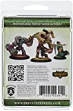 Privateer Press: Hordes: Circle of Orboros: Wolves of Orboros: Cheiftain and Standard Unit Attachment