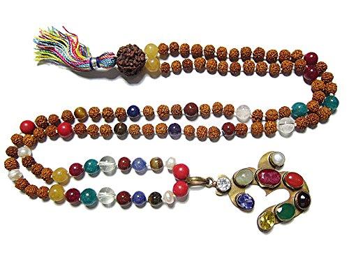 Spiritual Mala Beads Navgraha Rudraksha Yoga Meditation Yoga