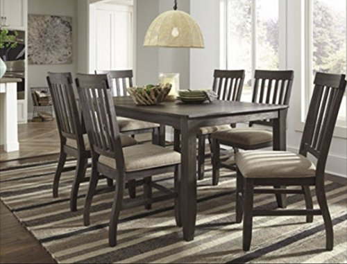 Ashley's 7 Piece Wooden Dining Set