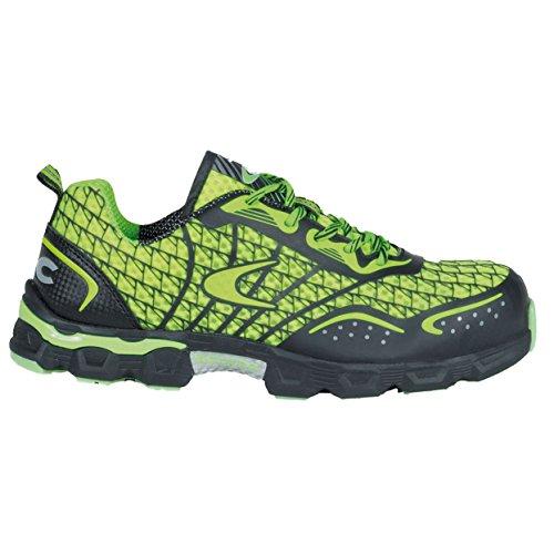 """Cofra JE006–000.w43S1P SRC Taglia 43""""calcio basso scarpe di sicurezza, colore: Lime/Verde"""