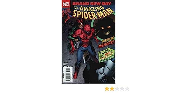 Amazing Spider-Man #550 FN 2008 Stock Image