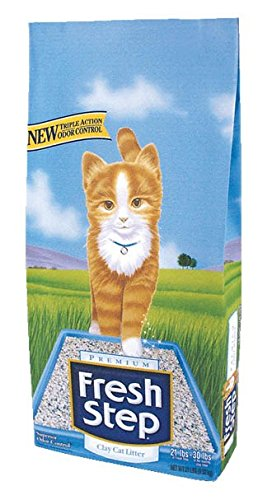 Non Clay Cat Litter (Fresh Step Extreme, Clay Cat Litter, 21 Pound Bag)