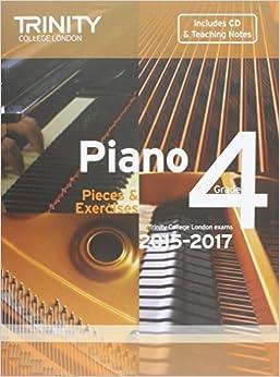 Book Piano 2015-2017: Grade 4: Pieces & Exercises (2014-07-01)
